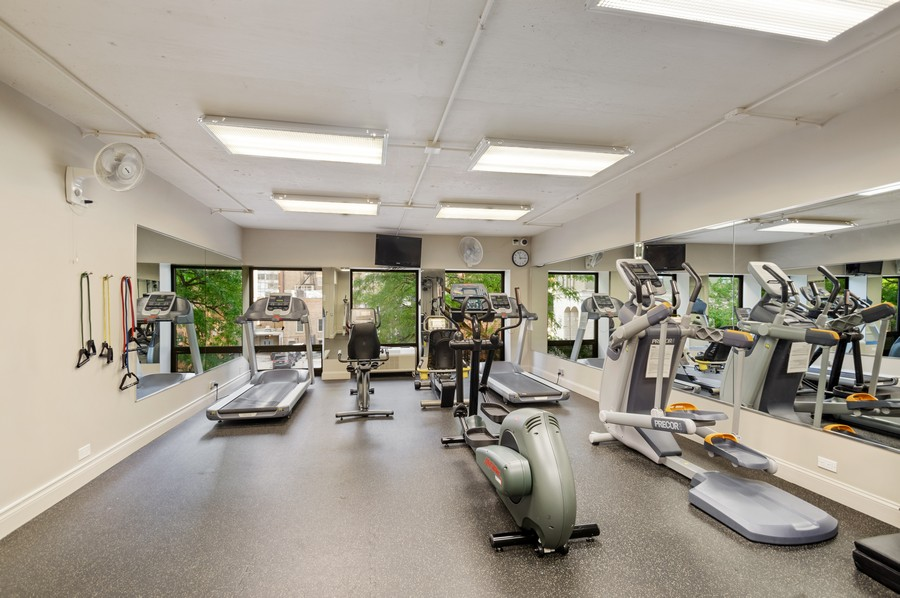Real Estate Photography - 1100 N Lake Shore Dr, 13A, Chicago, IL, 60611 - Exercise Room