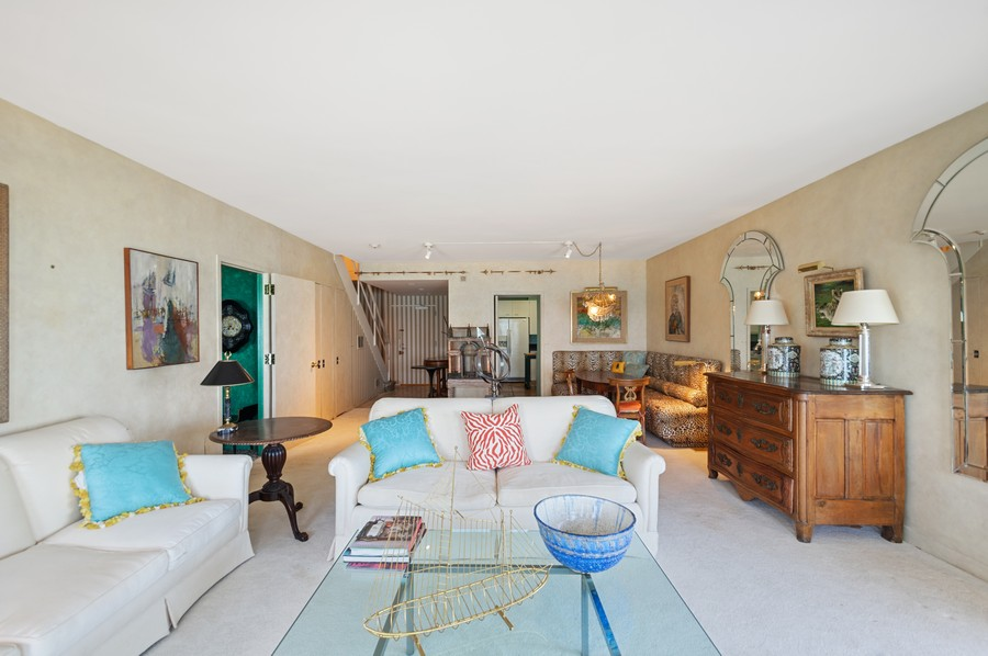 Real Estate Photography - 1100 N Lake Shore Dr, 13A, Chicago, IL, 60611 - Living Room / Dining Room