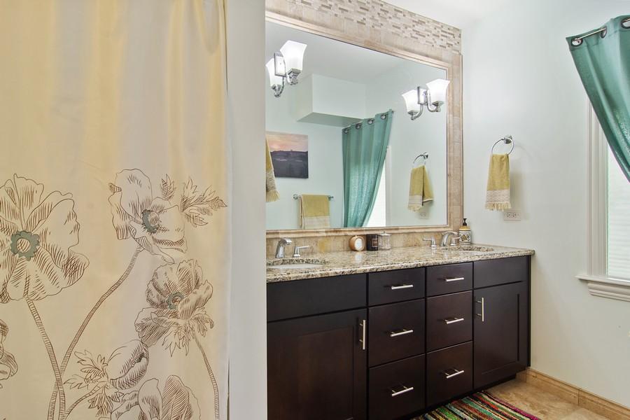 Real Estate Photography - 336 W Lake Street, Barrington, IL, 60010 - Master Bathroom
