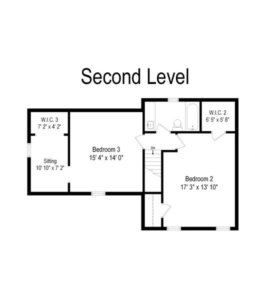Real Estate Photography - 336 W Lake Street, Barrington, IL, 60010 - Floor Plan