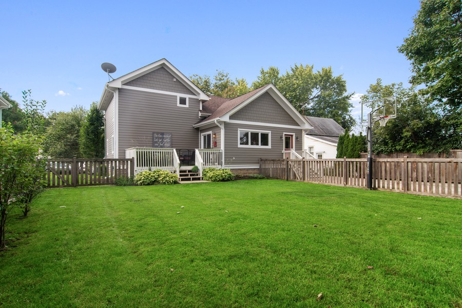 Real Estate Photography - 336 W Lake Street, Barrington, IL, 60010 - Rear View