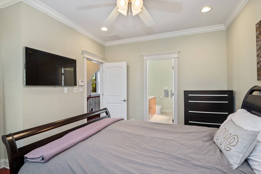 Real Estate Photography - 3555 N. Marshfield, #2, Chicago, IL, 60613 - Master Bedroom