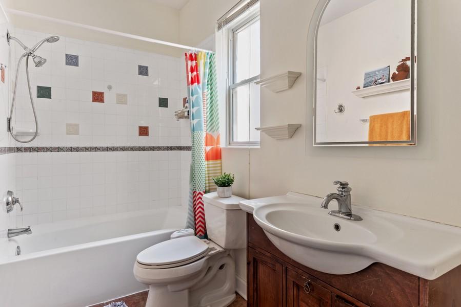 Real Estate Photography - 545 W. Addison St., Unit 1, Chicago, IL, 60613 - Bathroom