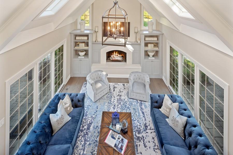 Real Estate Photography - 527 Princeton Rd, Hinsdale, IL, 60521 - Loft View A
