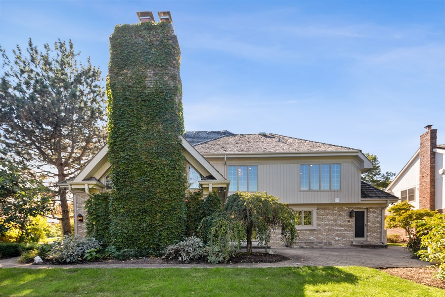 Real Estate Photography - 527 Princeton Rd, Hinsdale, IL, 60521 - Rear View