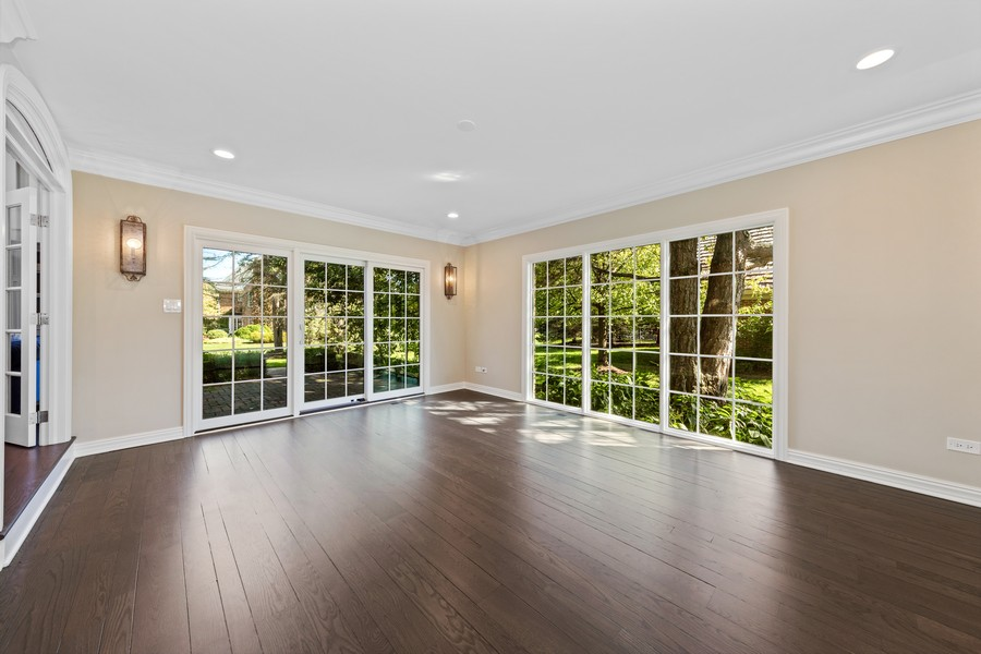 Real Estate Photography - 527 Princeton Rd, Hinsdale, IL, 60521 - Sun Room