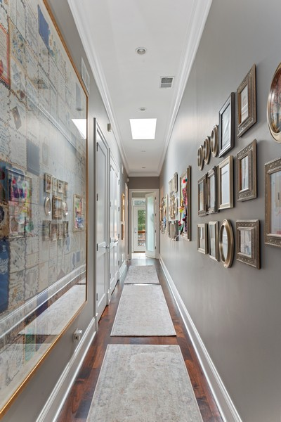 Real Estate Photography - 456 W Deming, Unit 4W, Chicago, IL, 60614 - Hallway
