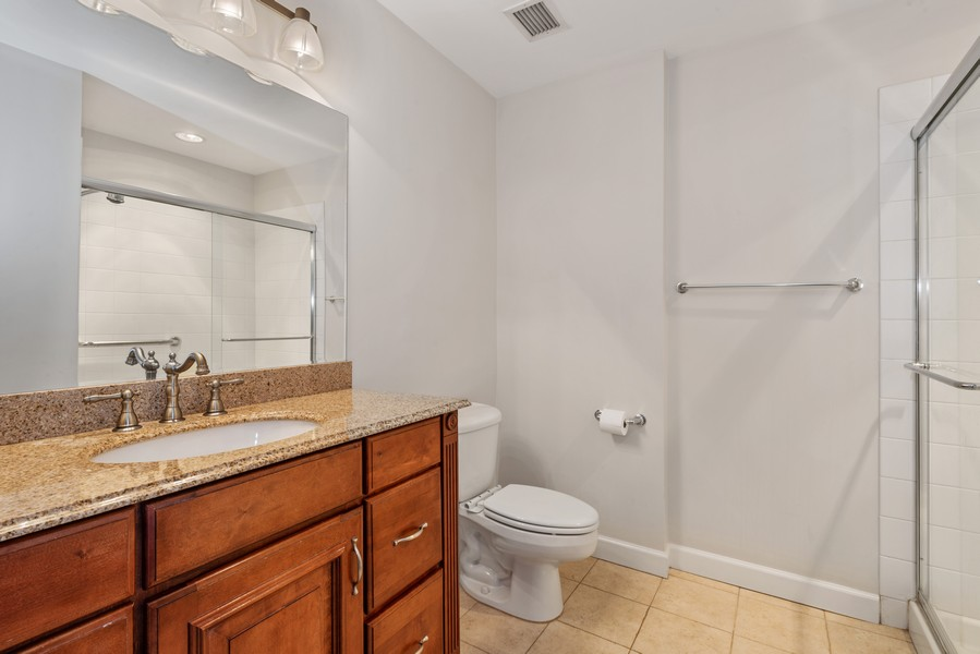 Real Estate Photography - 333 W Hubbard, 2A, Chicago, IL, 60654 - Master Bathroom