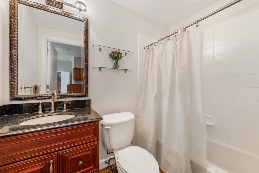 Real Estate Photography - 333 W Hubbard, 2A, Chicago, IL, 60654 - 2nd Bathroom