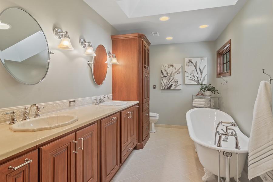 Real Estate Photography - 6534 Saddle Ridge Lane, Long Grove, IL, 60047 - Master Bathroom