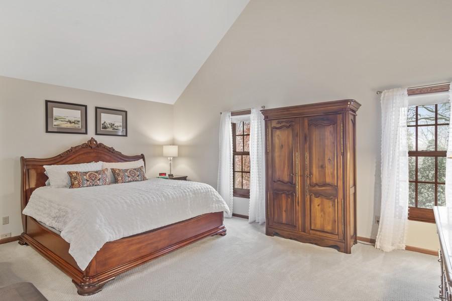 Real Estate Photography - 6534 Saddle Ridge Lane, Long Grove, IL, 60047 - Master Bedroom
