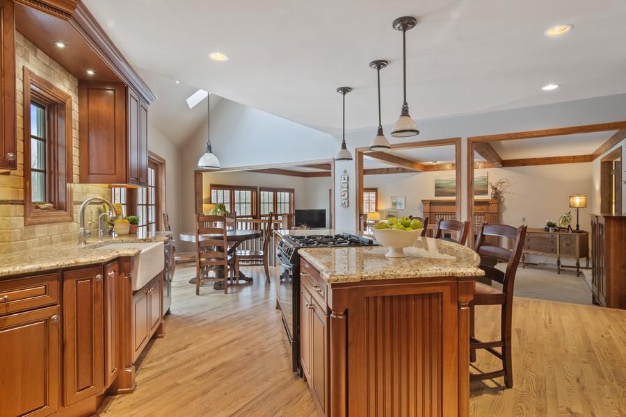 Real Estate Photography - 6534 Saddle Ridge Lane, Long Grove, IL, 60047 - Kitchen
