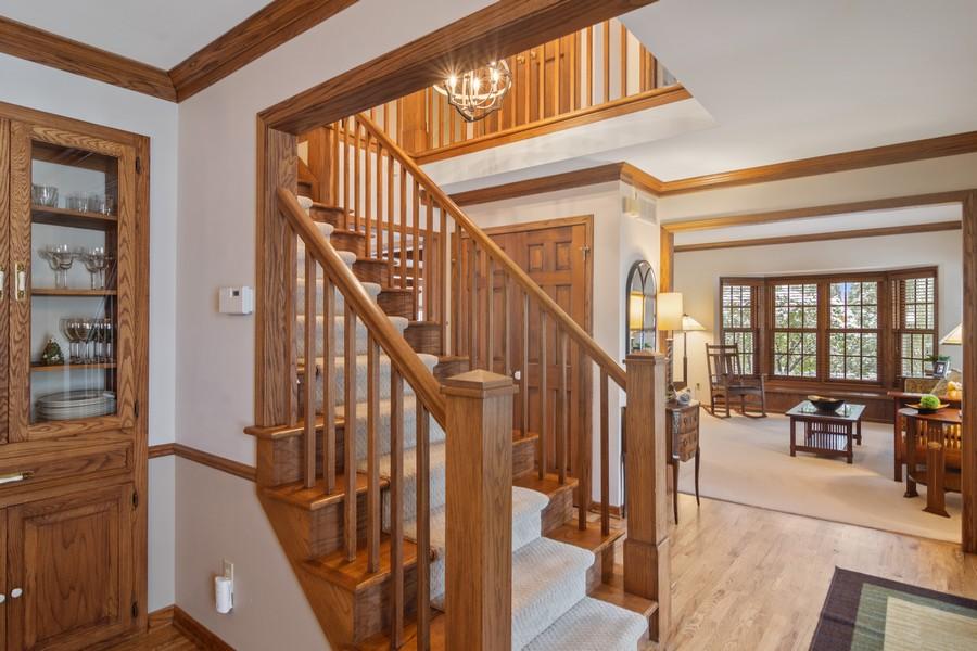 Real Estate Photography - 6534 Saddle Ridge Lane, Long Grove, IL, 60047 - Foyer
