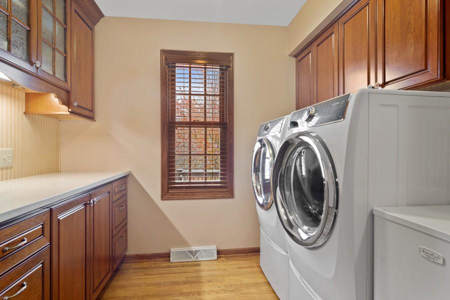 Real Estate Photography - 6534 Saddle Ridge Lane, Long Grove, IL, 60047 - Laundry Room