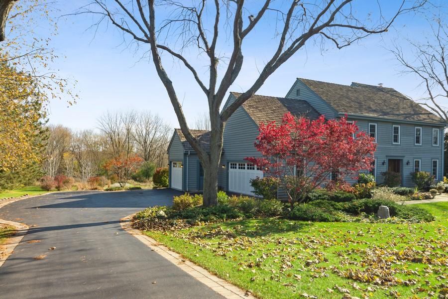 Real Estate Photography - 6534 Saddle Ridge Lane, Long Grove, IL, 60047 - Side View