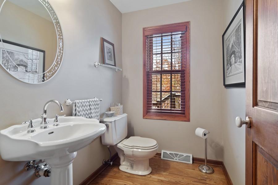 Real Estate Photography - 6534 Saddle Ridge Lane, Long Grove, IL, 60047 - Half Bath