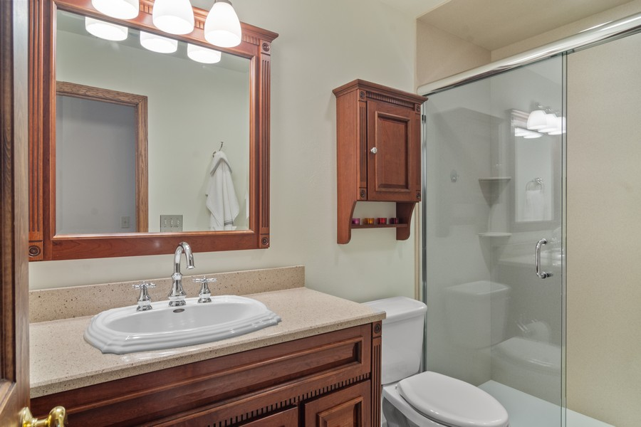 Real Estate Photography - 6534 Saddle Ridge Lane, Long Grove, IL, 60047 - Bathroom
