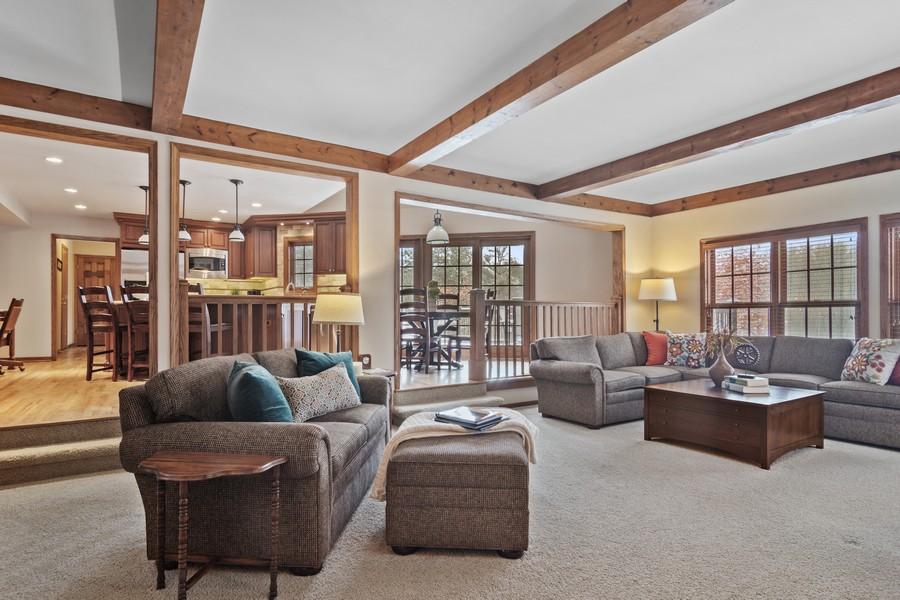 Real Estate Photography - 6534 Saddle Ridge Lane, Long Grove, IL, 60047 - Family Room / Kitchen