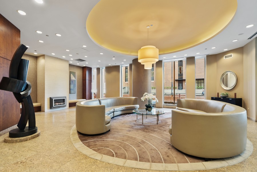 Real Estate Photography - 222 Columbus, 4603, Chicago, IL, 60601 - Lobby