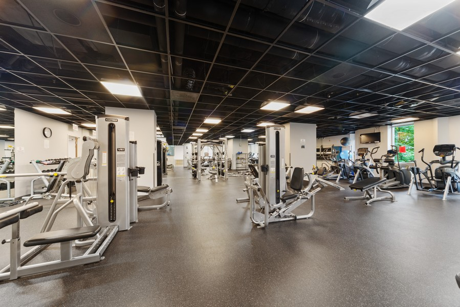 Real Estate Photography - 222 Columbus, 4603, Chicago, IL, 60601 - Exercise Room