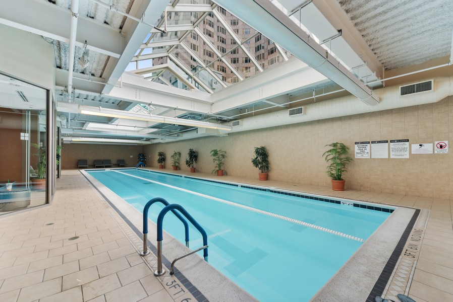 Real Estate Photography - 222 Columbus, 4603, Chicago, IL, 60601 - Pool