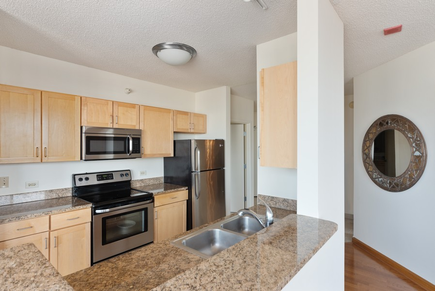 Real Estate Photography - 222 Columbus, 4603, Chicago, IL, 60601 - Kitchen