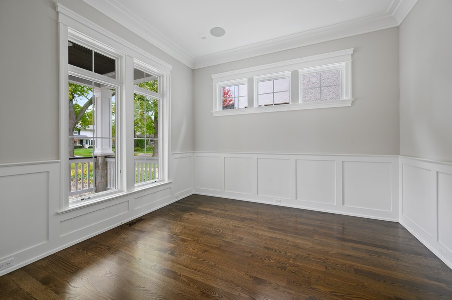 Real Estate Photography - 1119 Forest Ave, Wilmette, IL, 60091 - Living Room