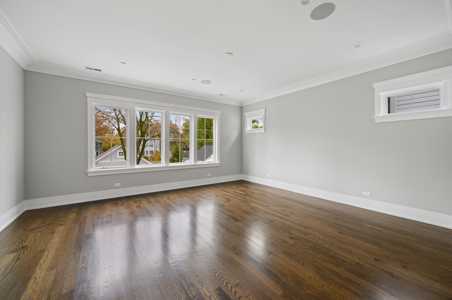 Real Estate Photography - 1119 Forest Ave, Wilmette, IL, 60091 - Master Bedroom