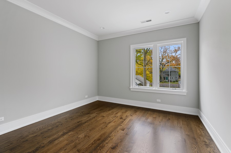 Real Estate Photography - 1119 Forest Ave, Wilmette, IL, 60091 - 2nd Bedroom