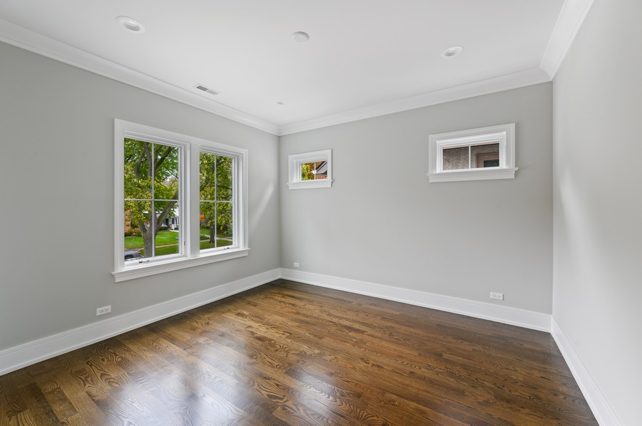 Real Estate Photography - 1119 Forest Ave, Wilmette, IL, 60091 - 3rd Bedroom