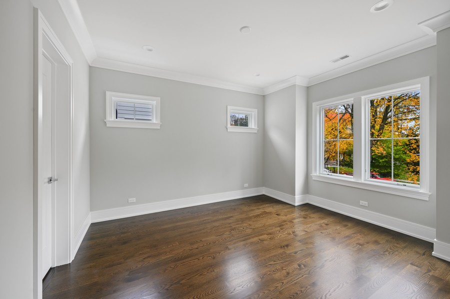 Real Estate Photography - 1119 Forest Ave, Wilmette, IL, 60091 - 4th Bedroom