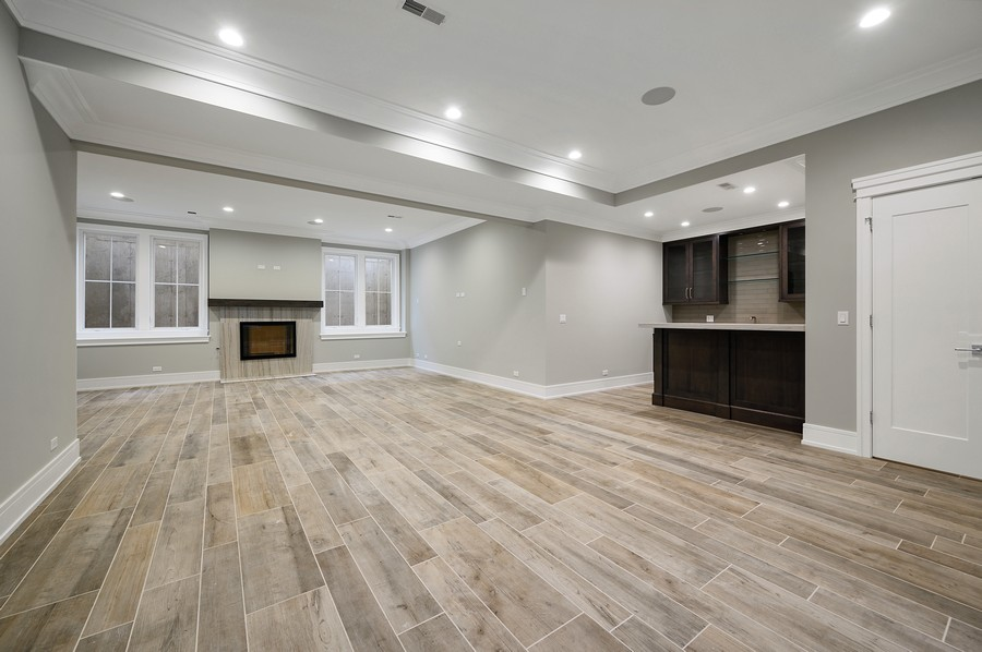 Real Estate Photography - 1119 Forest Ave, Wilmette, IL, 60091 - Lower Level