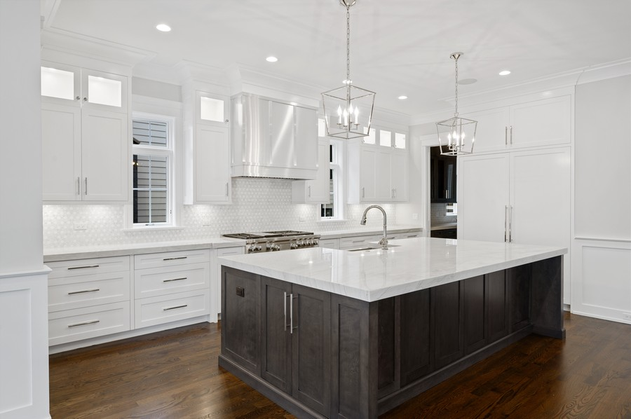 Real Estate Photography - 1119 Forest Ave, Wilmette, IL, 60091 - Kitchen
