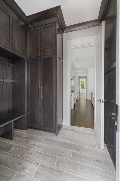 Real Estate Photography - 1119 Forest Ave, Wilmette, IL, 60091 - Mudroom