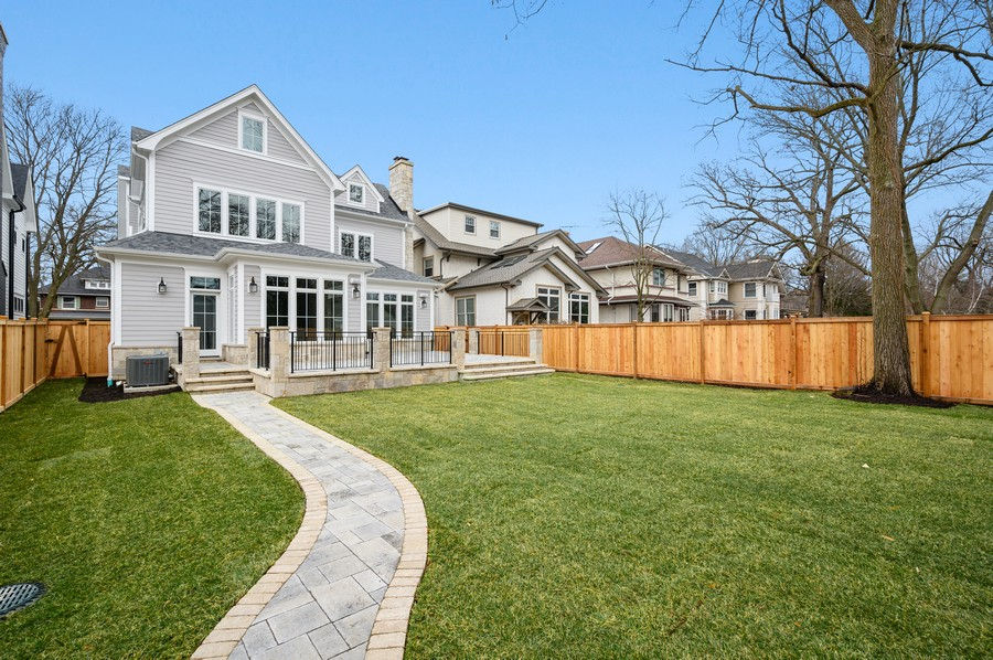 Real Estate Photography - 1119 Forest Ave, Wilmette, IL, 60091 -