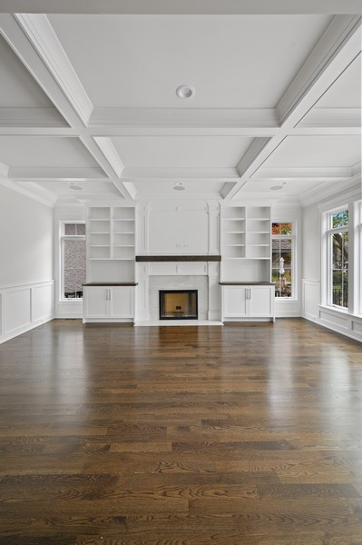 Real Estate Photography - 1119 Forest Ave, Wilmette, IL, 60091 - Family Room