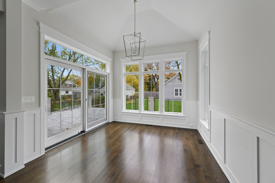 Real Estate Photography - 1119 Forest Ave, Wilmette, IL, 60091 - Breakfast Area