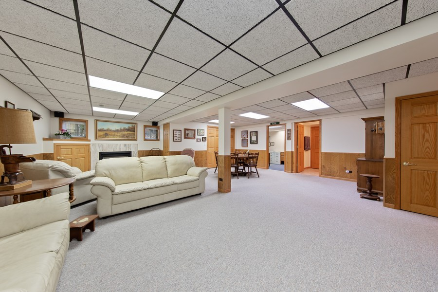 Real Estate Photography - 12219 Spire Drive, Lemont, IL, 60439 - Lower Level