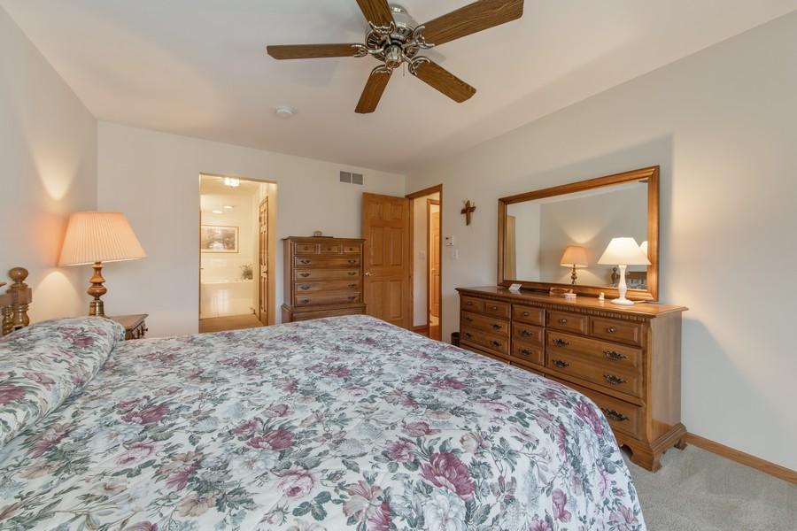Real Estate Photography - 12219 Spire Drive, Lemont, IL, 60439 - Master Bedroom