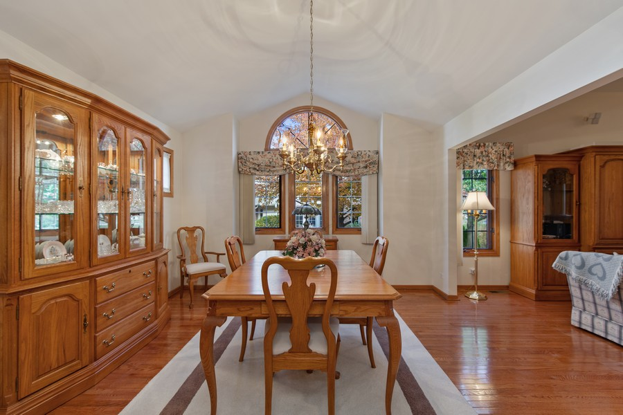 Real Estate Photography - 12219 Spire Drive, Lemont, IL, 60439 - Dining Room