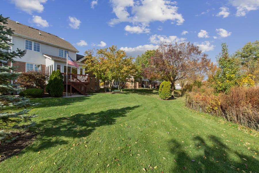 Real Estate Photography - 12219 Spire Drive, Lemont, IL, 60439 - Back Yard