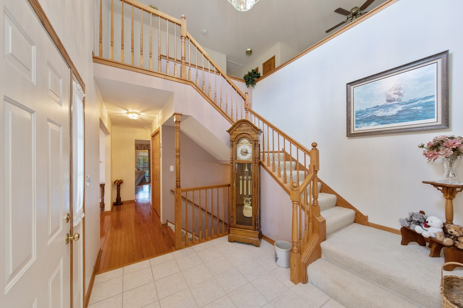 Real Estate Photography - 12219 Spire Drive, Lemont, IL, 60439 - Foyer