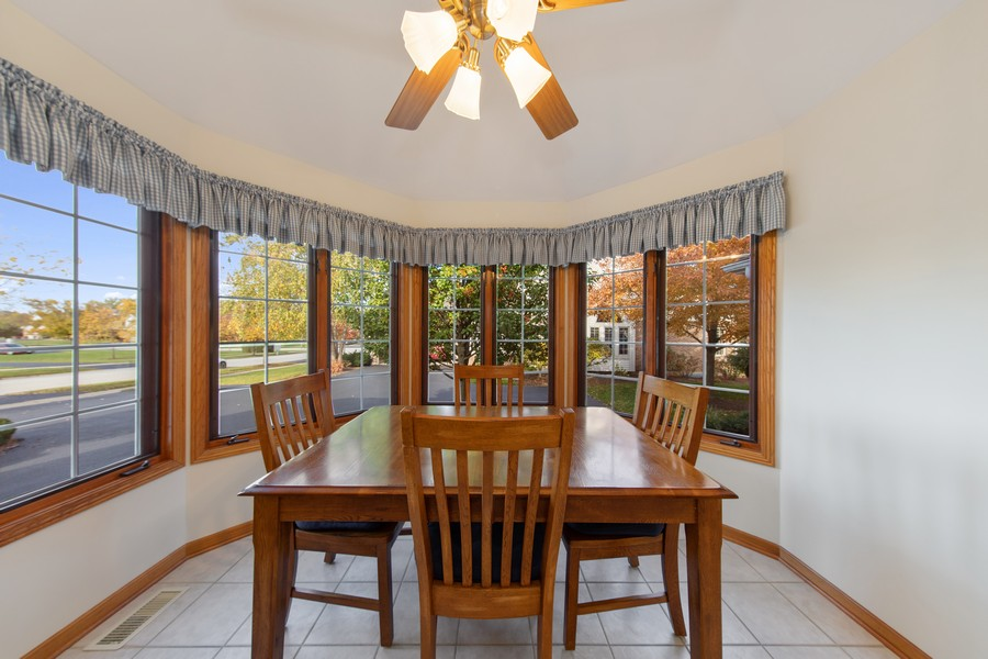 Real Estate Photography - 12219 Spire Drive, Lemont, IL, 60439 - Breakfast Area
