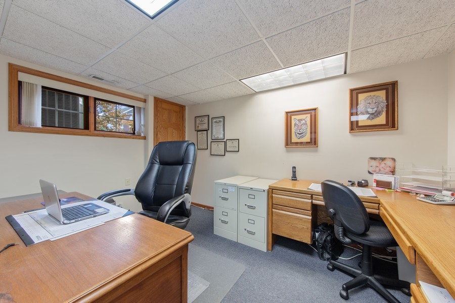 Real Estate Photography - 12219 Spire Drive, Lemont, IL, 60439 - OFFICE