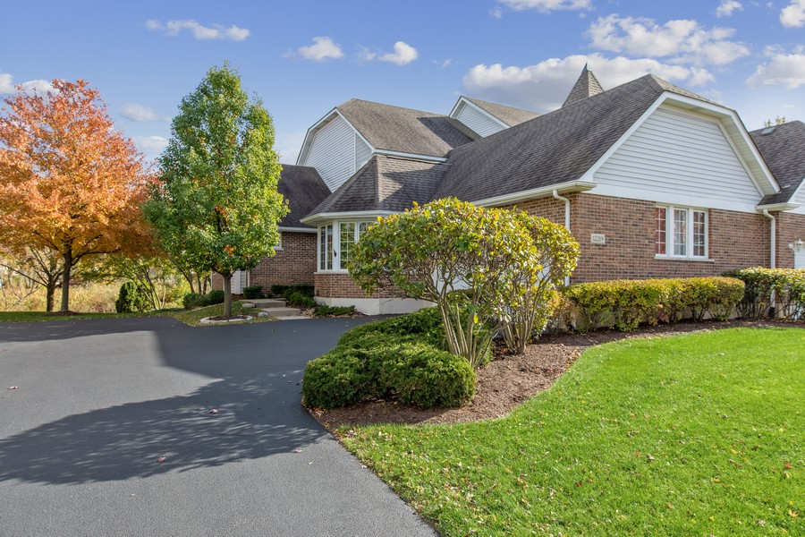 Real Estate Photography - 12219 Spire Drive, Lemont, IL, 60439 - Side View