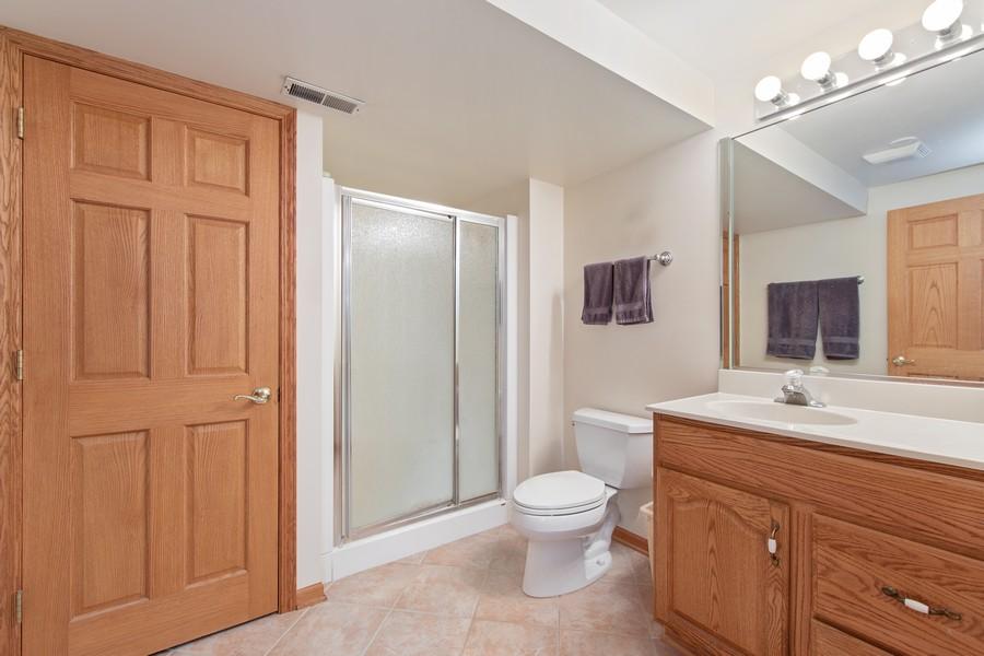Real Estate Photography - 12219 Spire Drive, Lemont, IL, 60439 - Bathroom