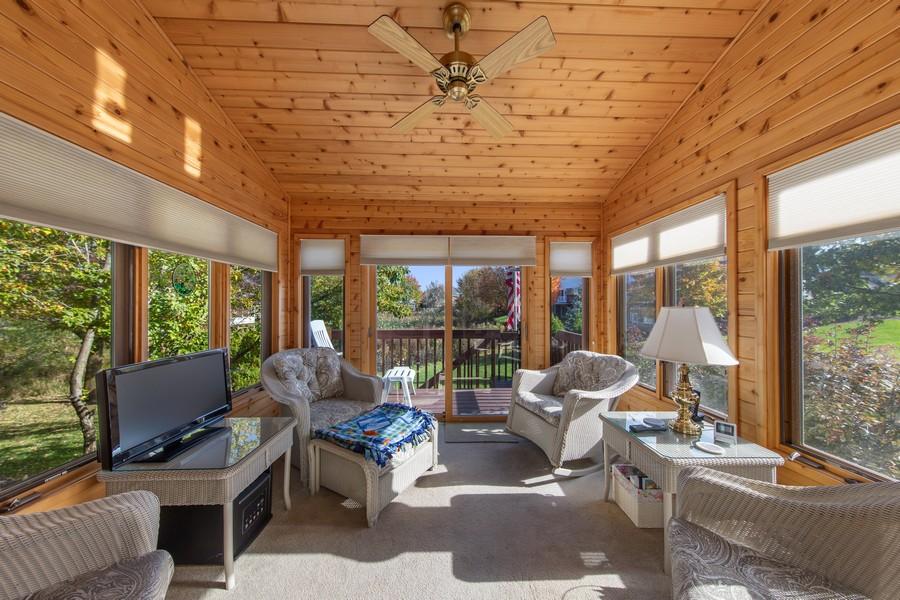 Real Estate Photography - 12219 Spire Drive, Lemont, IL, 60439 - Sun Room