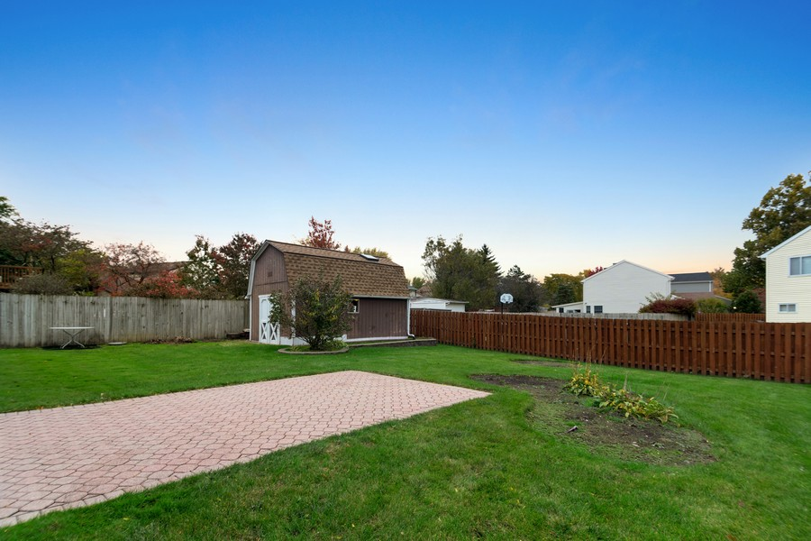 Real Estate Photography - 820 W Appletree Ln, Bartlett, IL, 60103 - Rear View