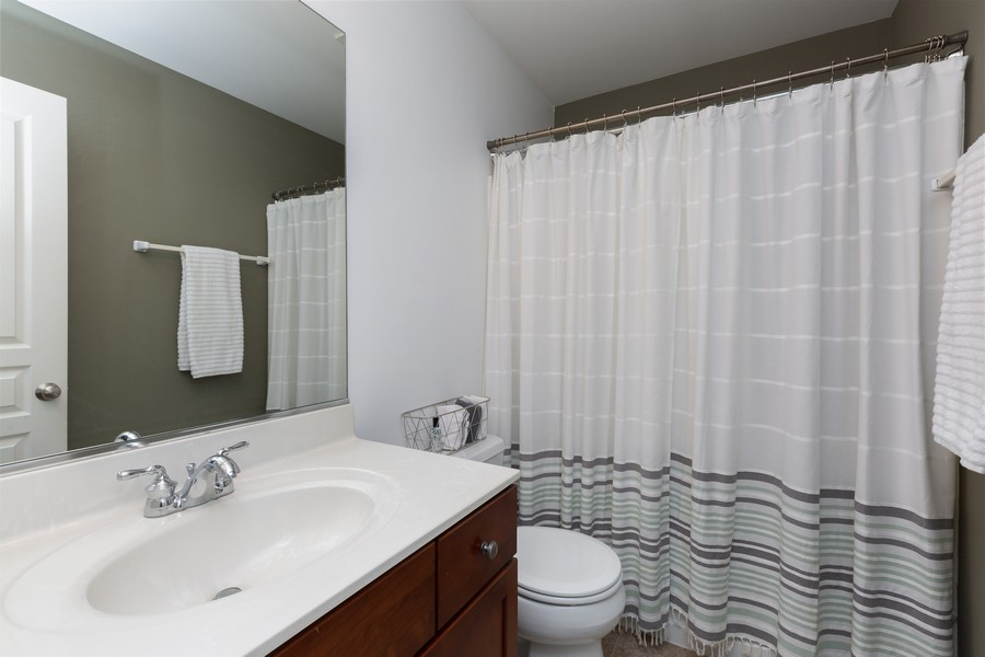 Real Estate Photography - 672 Lancaster Drive, Pingree Grove, IL, 60140 - Bathroom