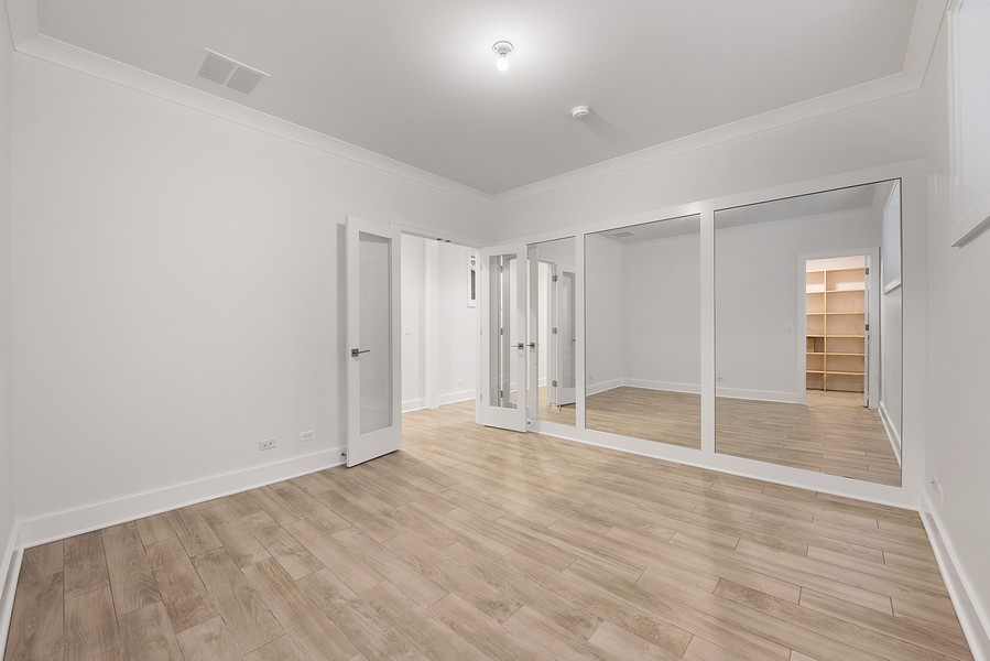 Real Estate Photography - 4100 N Oakley Ave, Chicago, IL, 60618 - 4th Bedroom